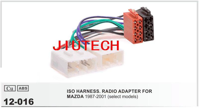 Car ISO Wiring Harness