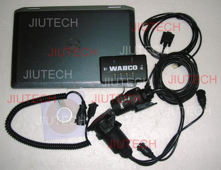 wabco diagnostic kit d6420 laptop full set