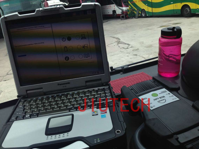 Man Cats II T200 Truck Diagnosis Scanner Full Set